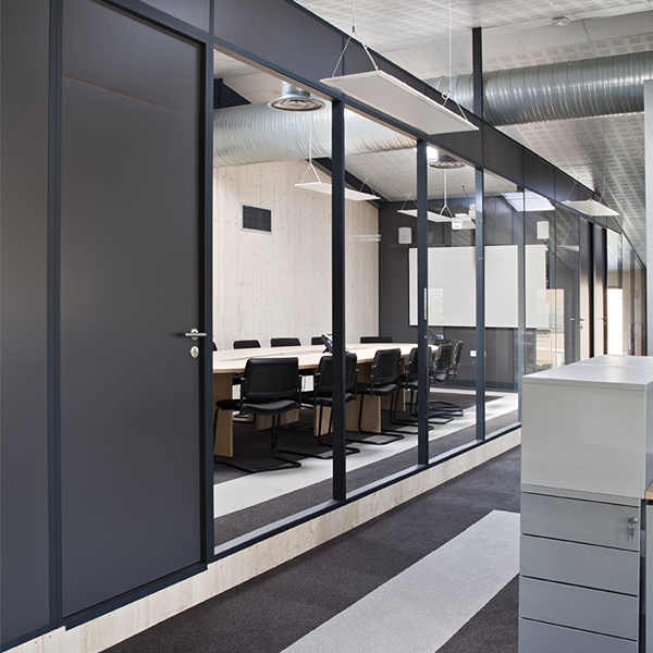 Hoyez Partitionsystems Aluminium Frame Partitions