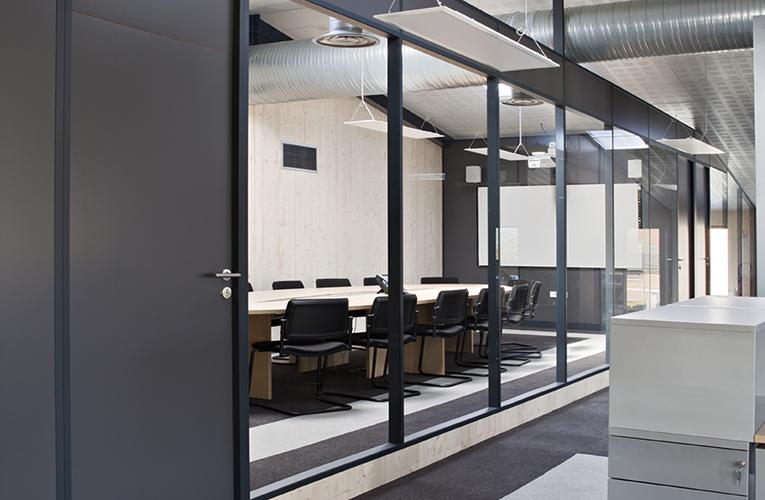 cloison modulaire h7 standard hoyez partitionsystems. Black Bedroom Furniture Sets. Home Design Ideas