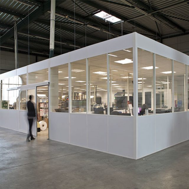 H7 Relocatable industrial partition