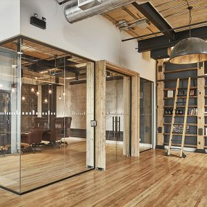 Partition systems with aluminium frame I hOyez Partitionsystems