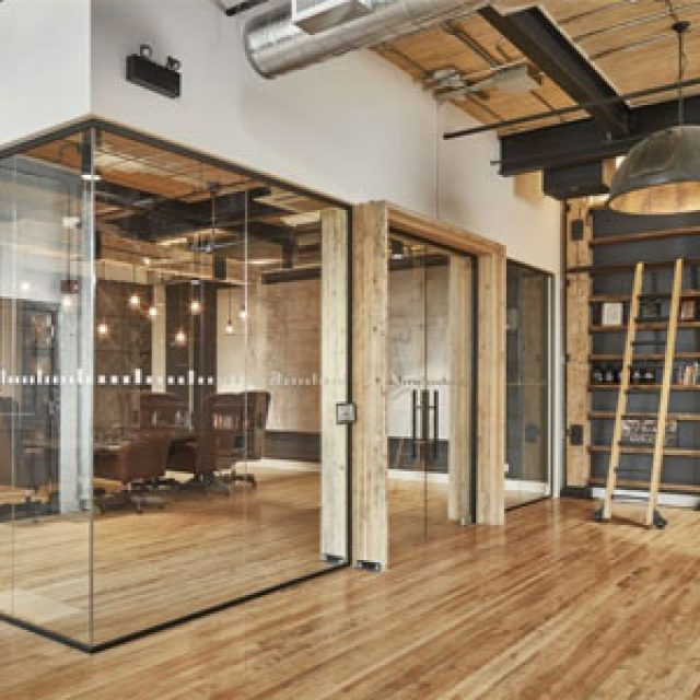 H Transparence Glass office partition