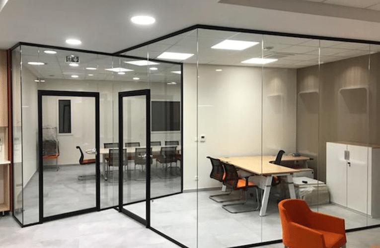 cloisons vitrées transparence