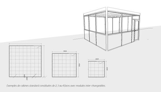 cloisons industrielles cabines