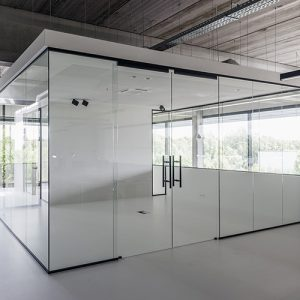 Glassdoor, light and subtlety design I Hoyez PartitionSystems