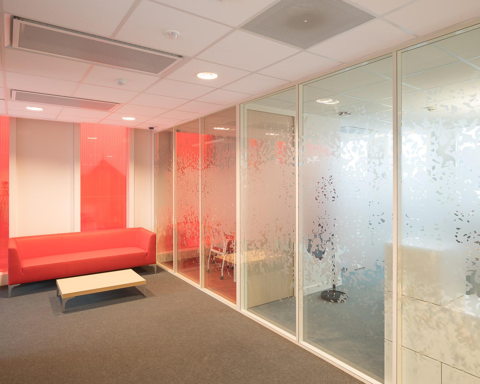cloisons siège bancaire - Cloison acoustique H7 siège bancaire cloisons amovibles à ossature aluminium hOyez partitionsystems