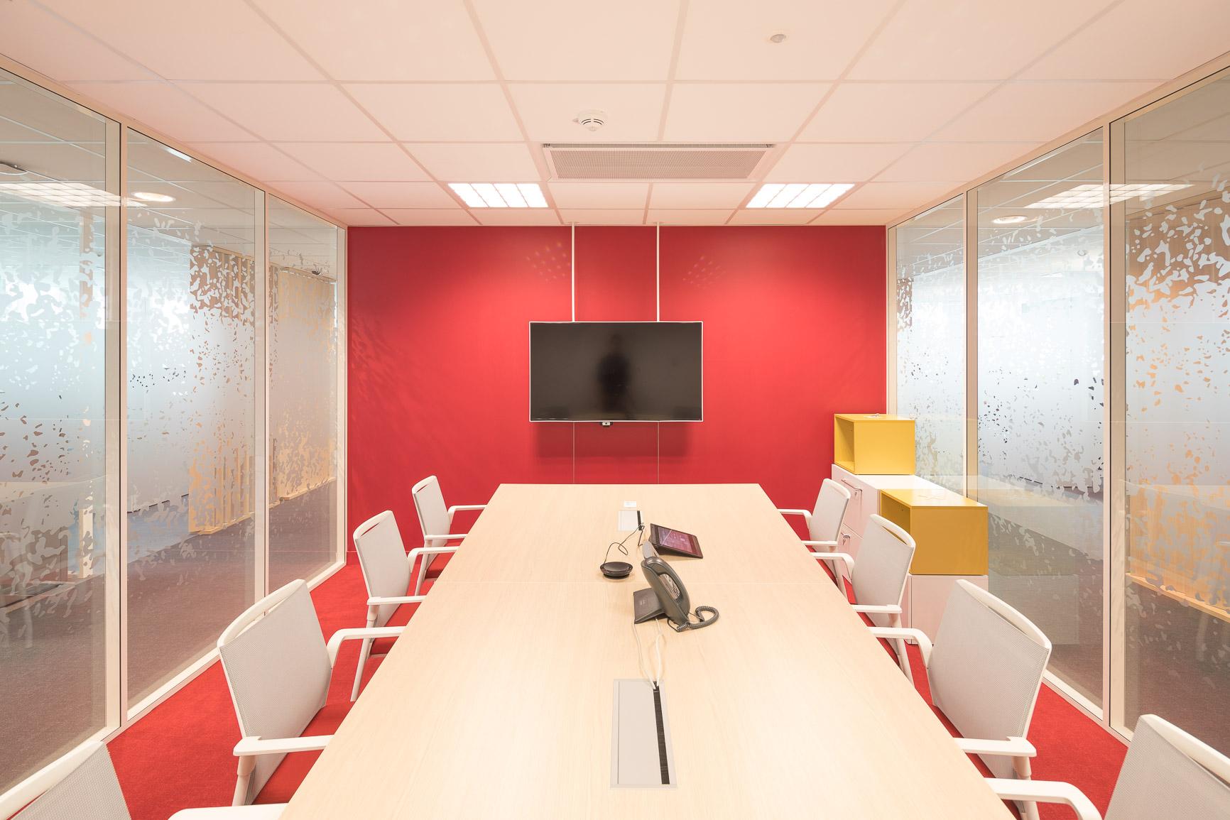 cloisons siège bancaire- Cloison acoustique H7 siège bancaire cloisons amovibles à ossature aluminium hOyez partitionsystems