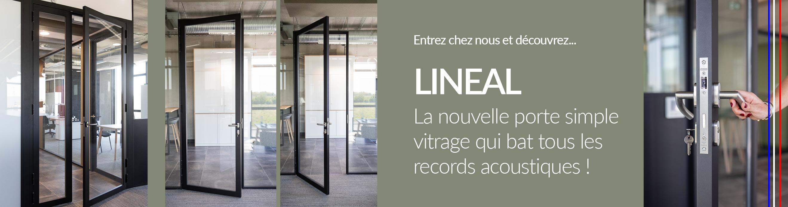 Porte lineal