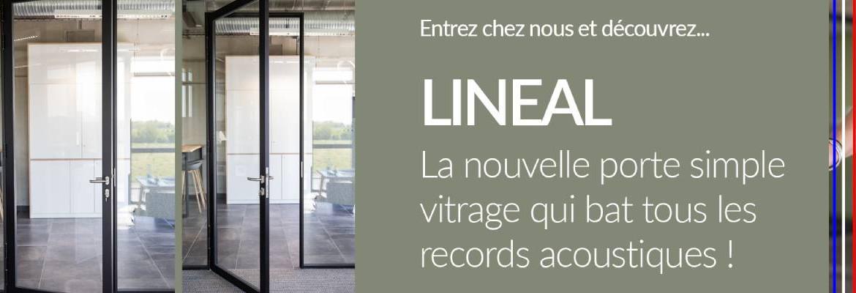 Lineal, porte simple